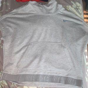 Nike hooded shirt